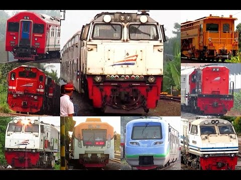 Macem-macem Semboyan 35 - Train Hornsound Compilation