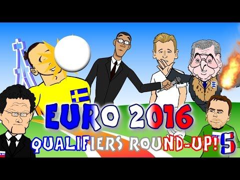 Zlatan freak goal! Akinfeev flare! Kane debut goal! EURO 2016 QUALIFIER: goals and highlights