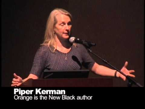 Cuesta College 2014 Book of the Year with Piper Kerman, April 3, 2014