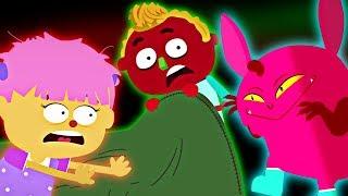 Five Little Spooky Monsters | BRAND NEW Halloween Song For Kids | Nursery Rhymes