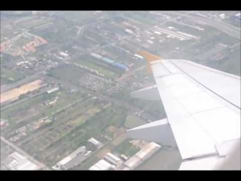 Tiger Airways TR 2103 Bangkok ( BKK ) – Singapore ( SIN ) taxi and takeoff