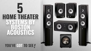 Top 5 Boston Acoustics Home Theater Systems [2018]: Boston Acoustics 5.1 System with 2 A360
