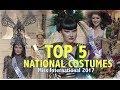 Miss International 2017: TOP 5 NATIONAL COSTUMES - FULL (HD)