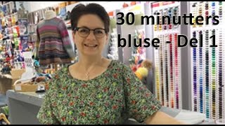 30 minutters bluse