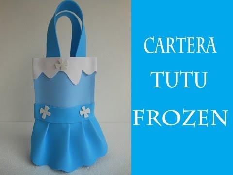 Cartera Tutu de Foami Frozen