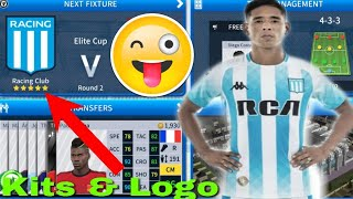 Dream League Soccer 2019 | How To Make Racing Club Team Kits & Logo 2019/2020