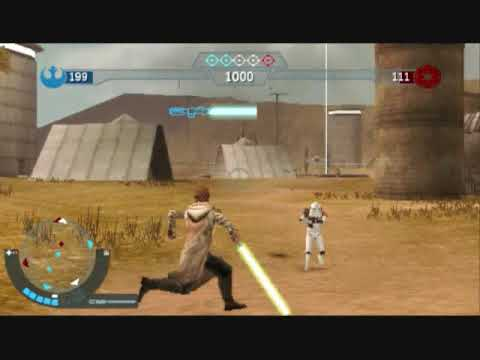 PSP Star Wars Elite Squadron Online GAMEPLAY