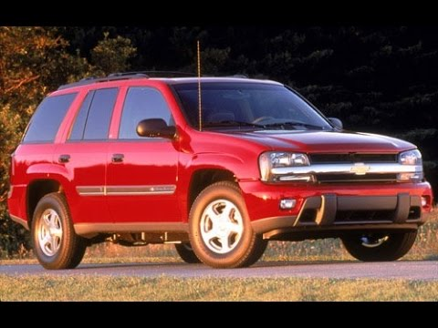 2002 Chevrolet Trailblazer Start Up. Road Test. & Review 4.2 L 6-Cylinder