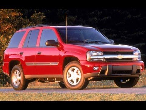 2002 Chevrolet Trailblazer Start Up, Road Test, & Review 4.2 L 6-Cylinder