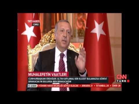Cumhurbaşkanı Erdoğan'dan Kılıçdaroğlu'na altın klozet yanıtı!