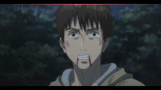 Shinichi vs Gotou final fight and Migi's back Parasyte 1080p