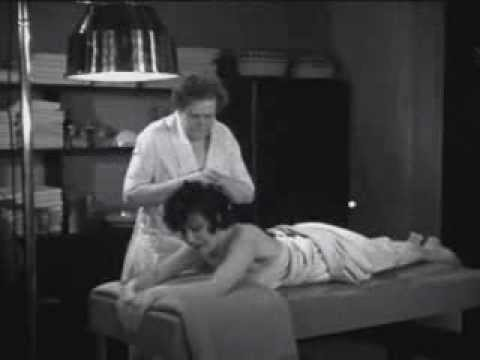 Marie Dressler Funny Pre-Code Nude Massage Reducing