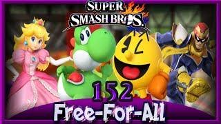 Super Smash Bros. 4 3DS - Vs. Free For All [152]