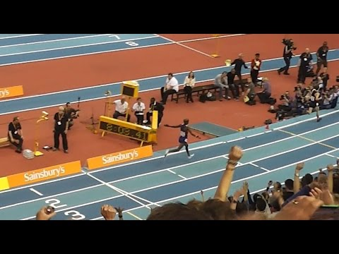 mo farah 2 mile world record final lap feb 2015