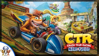 Crash Team Racing: Nitro Fueled Adventure Mode Gameplay - Crash Cove, Roo's Tubes & Mystery Caves