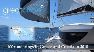 Sailing in Greece -  Sailing Greatcircle Overview 2018 - Part 2