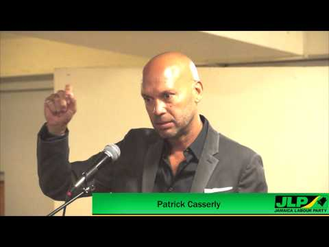 Patrick Casserly - Solutions To Grow The Jamaican Economy