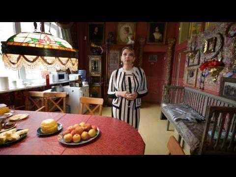 Где живут знаменитости: фотостудия Рождественской