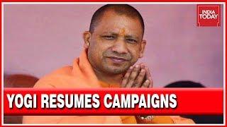Yogi Adityanath Resumes Campaigning After Being Barred, Begins Mega Rally At Sambhal