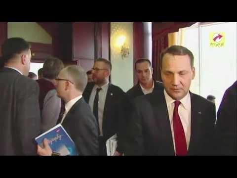 Radosław Sikorski grozi ukraińskiej opozycji!