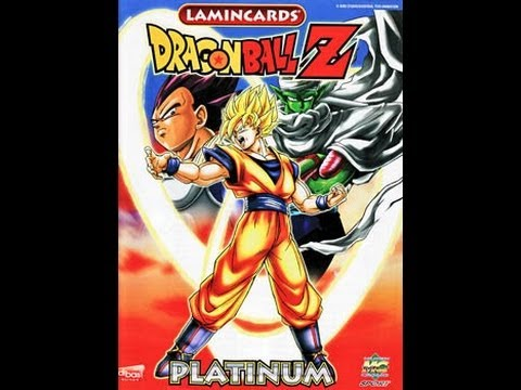 33- Dragon Ball Z Lamincards Platinum