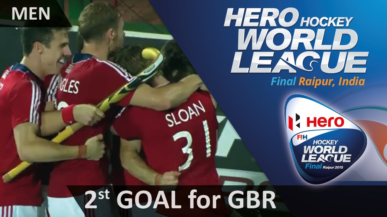 AUS 0-2 GBR Grassick fires in the double the lead for GBR #HWL2015 #Raipur