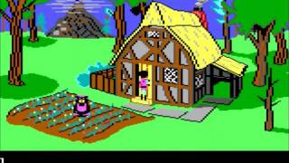 Let's Play King's Quest III (Tandy 1000) - Ep 1