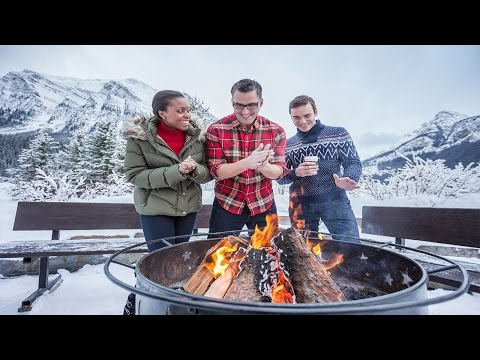 Winter in Alberta offers many breathtaking experiences. This video shot throughout the province showcases Snowboarding, Dog-sledding, Ice skating, Heli-Hikin...