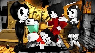 Minecraft - Bendy and the Ink Machine - ALICE KIDNAPS ME?!
