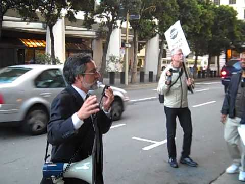 Attack on Rent Control Rally - Aaron Peskin, Chair S.F. Democratic Party