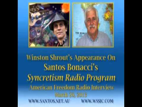 Santos Bonacci's Interview with Winston Shrout 3/19/13