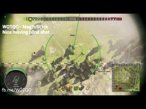 WOTQC - Mag1cSt1ck - World of Tanks Xbox - Nice blindshot on the move