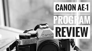 Canon AE-1 Program 35mm Film Camera - Review & User Guide.