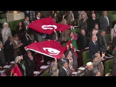 Tunisie: une nouvelle constitution et un nouveau gouvernement pour le pays - 27/01