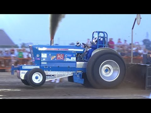 Tractor & Truck Pulling - 10,000HP Engine, Turbo Sounds, Diesel Power, Wheelies & More!