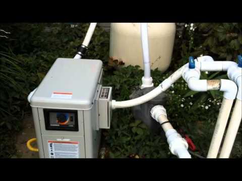 Hayward H100 Pool Heater Youtube