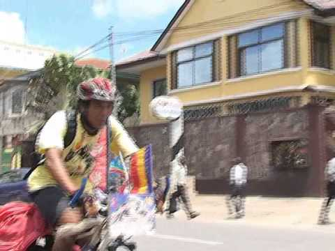 world Tour cyclist furtemba sherpa in D R C