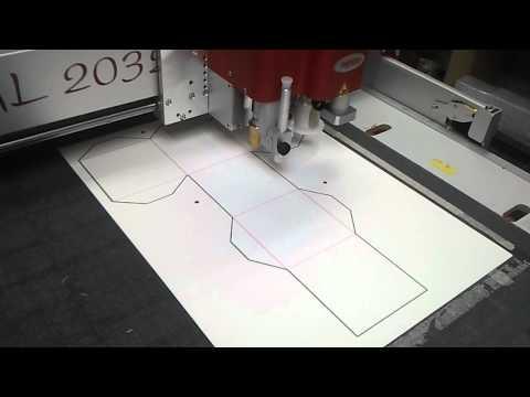 Wycinanie i bigowanie kartonu