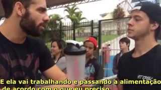 Entrevista Torneio Crossfit Brasil 2015 - Fábio Dechichi, João Kamimura e Lupa.