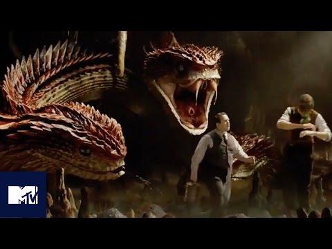 Fantastic Beasts EXCLUSIVE Deleted Scene Reveals New Creature, The Runespoor   MTV