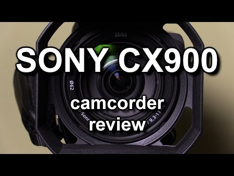Review: Sony HDR-CX900 camcorder