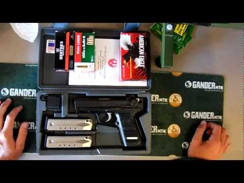 Ruger P95 9mm gun and ammo review