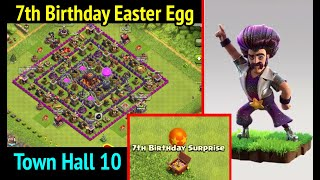 Clash of Clans: Best Town Hall 10 (7th Anniversary): Party Wizard and Birthday Surprise Balloon