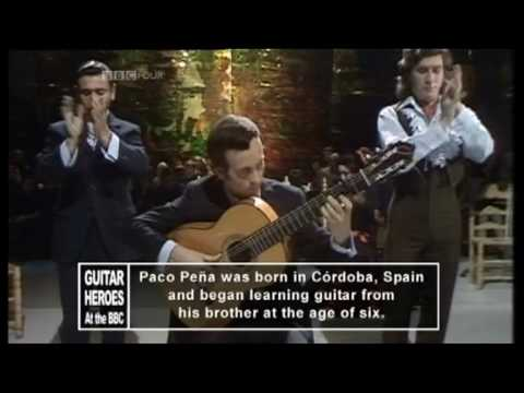 PACO PENA - Cantes Por Bulerias (1972 UK TV Performance) ~ HIGH QUALITY HQ ~