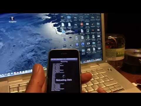 iPHONE 3GS - How 2 Officially Downgrade IOS 6.1.6 to 4.1 + fix 1015 error + Jailbreak and Pimp to 7