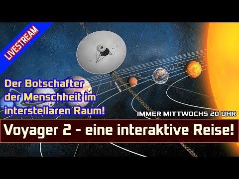 LIVESTREAM Voyager 2 erreicht den interstellaren Raum - eine interaktive Reise und Geschichte!