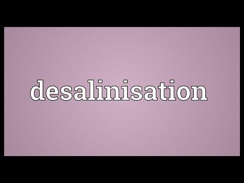 Header of desalinisation