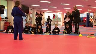 Sarah Taekwondo Belt Grading