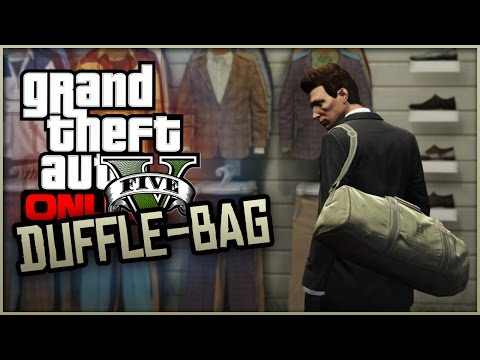GTA 5 Online How To Get The RARE Duffle Bag Item GTA 5 Glitches Tricks