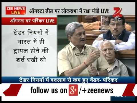 Defence Minister Manohar Parrikar Slamming on Congress : Part 1